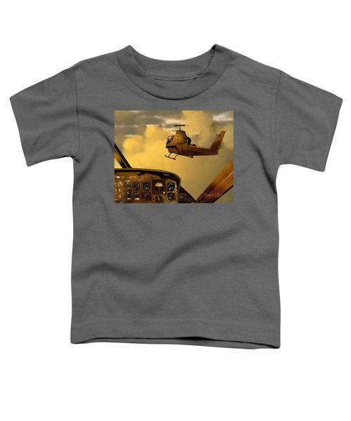 Palette Of The Aviator Toddler T-Shirt
