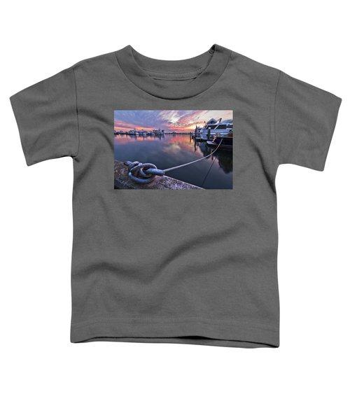Palm Beach Harbor Toddler T-Shirt