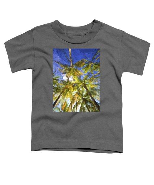Palm Trees Of Aruba Toddler T-Shirt