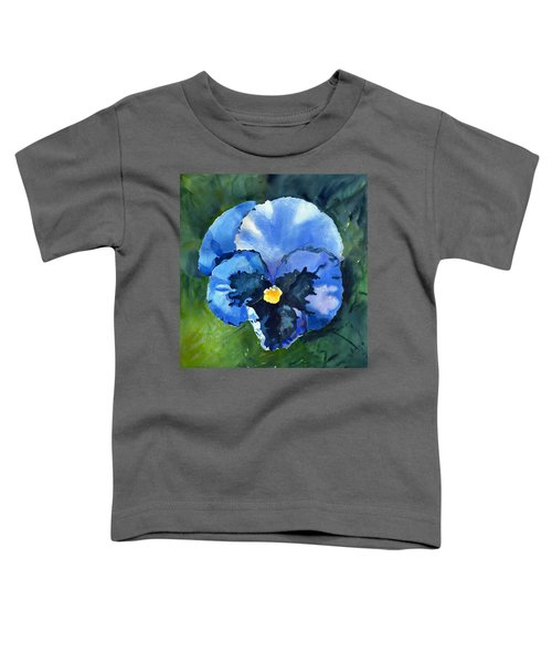 Pansy Blue Toddler T-Shirt