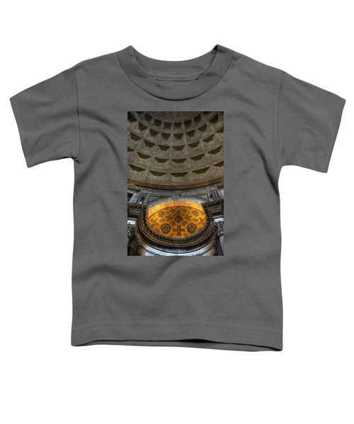 Pantheon Ceiling Detail Toddler T-Shirt
