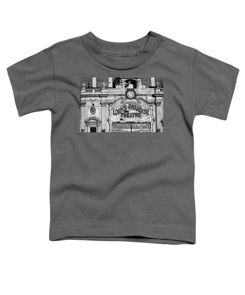 Paradise Movie Theatre Toddler T-Shirt