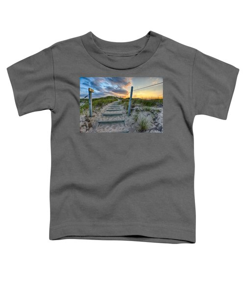 Path Over The Dunes Toddler T-Shirt