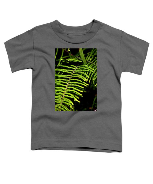 Toddler T-Shirt featuring the photograph Pauched Coral Fern by Miroslava Jurcik
