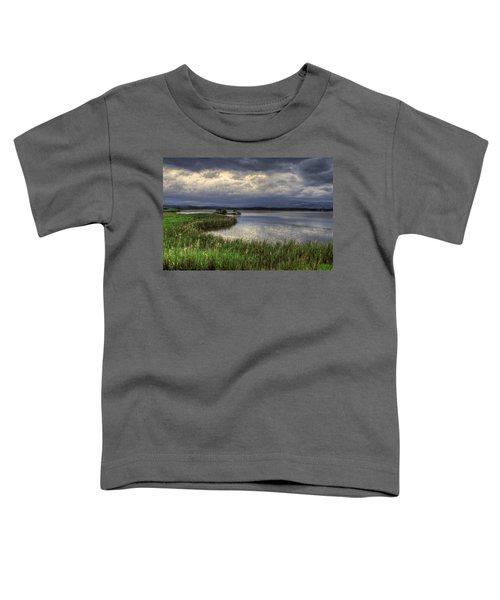Peaceful Evening At The Lake Toddler T-Shirt