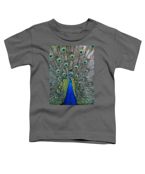 Peacock Toddler T-Shirt