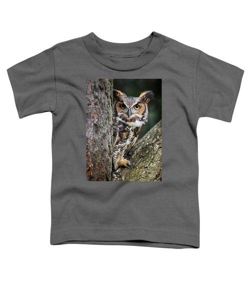 Peering Out Toddler T-Shirt