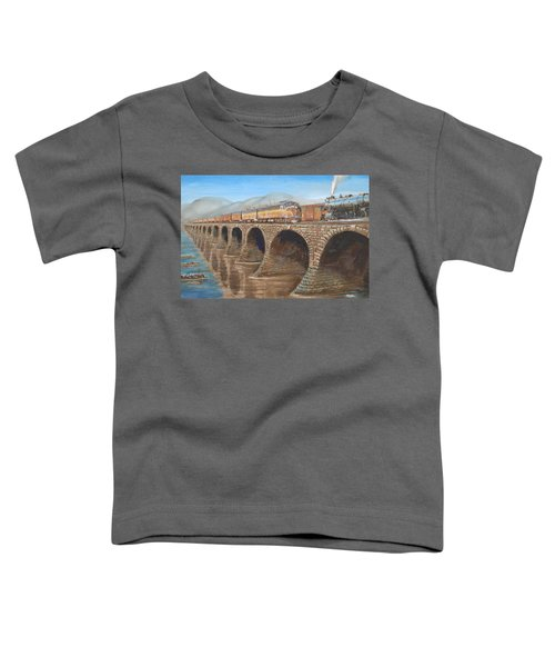 Pennsylvania Railroad On The Rockville Bridge Toddler T-Shirt