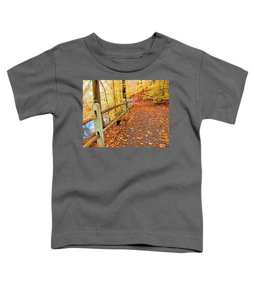 Pennypack Trail Philadelphia Fall Toddler T-Shirt