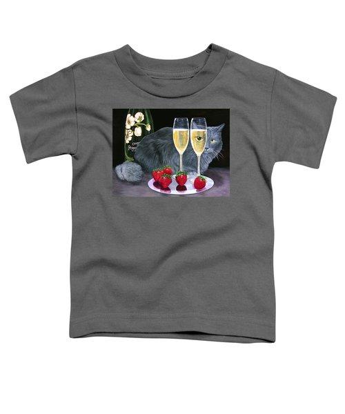 Perrier Jouet Et Le Chat Toddler T-Shirt