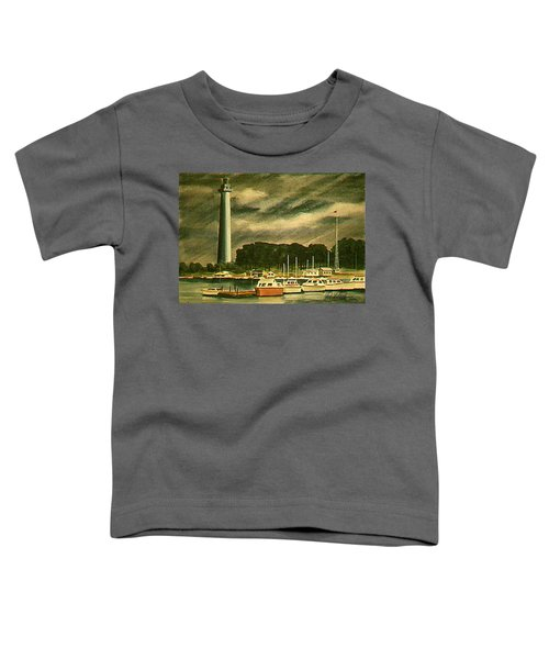 Perrys Monument On Put In Bay Toddler T-Shirt