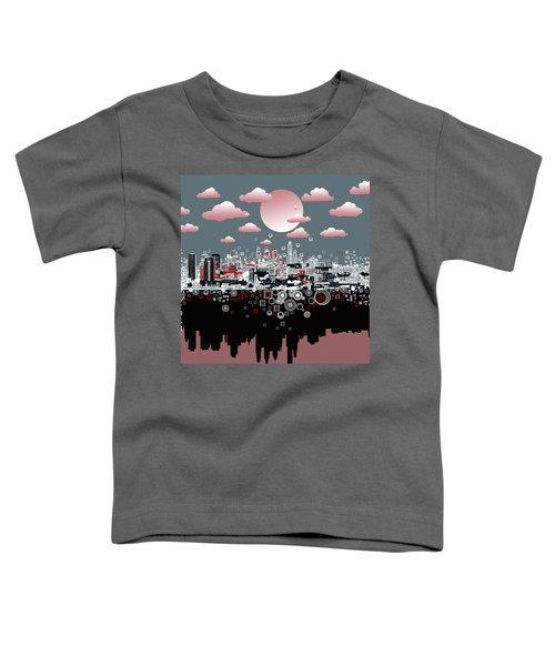 Philadelphia Skyline Abstract 6 Toddler T-Shirt
