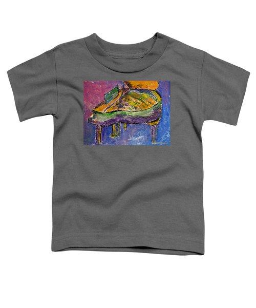 Piano Purple Toddler T-Shirt