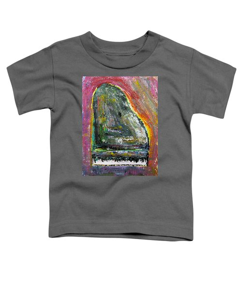 Piano Red Toddler T-Shirt