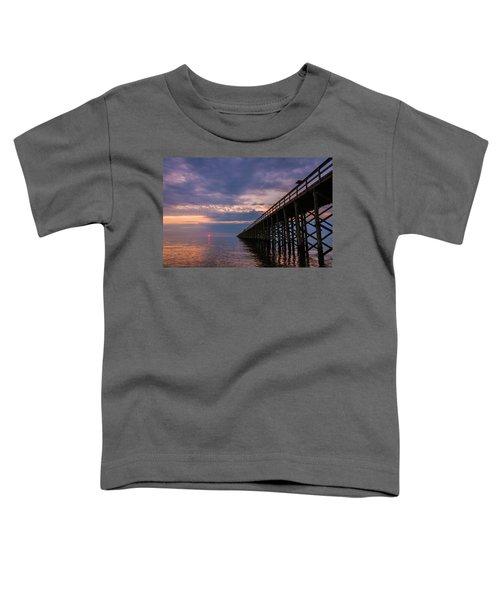 Pier To The Horizon Toddler T-Shirt