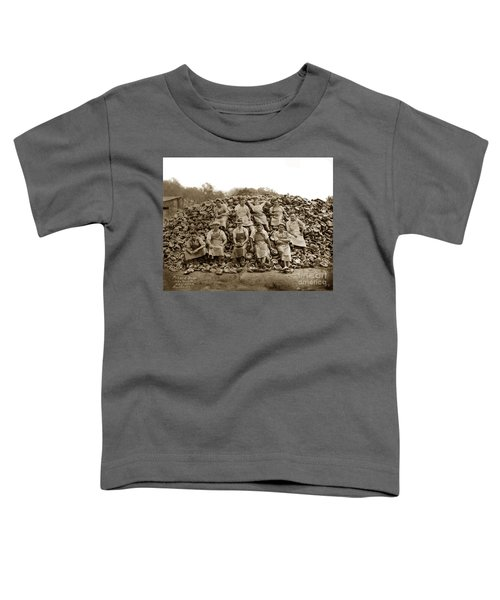 Pierce Brothers Abalone Morro Bay Circa 1925 Toddler T-Shirt