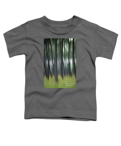 Pine Forest. Blurred Toddler T-Shirt