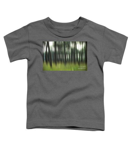 Pine Forest.blurred Toddler T-Shirt
