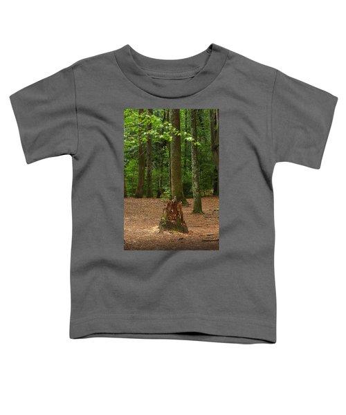 Pine Stump Toddler T-Shirt