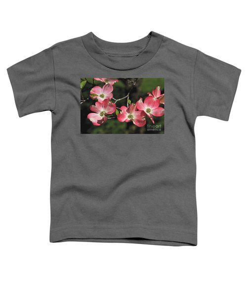 Pink Dogwood Toddler T-Shirt