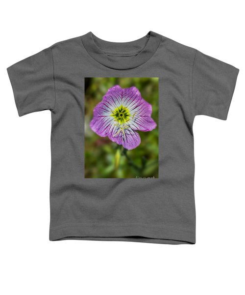 Pink Evening Primrose Toddler T-Shirt