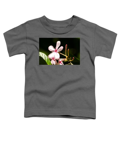 Pink Flower Toddler T-Shirt