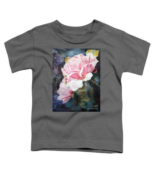 Pink Rose Caroline Toddler T-Shirt