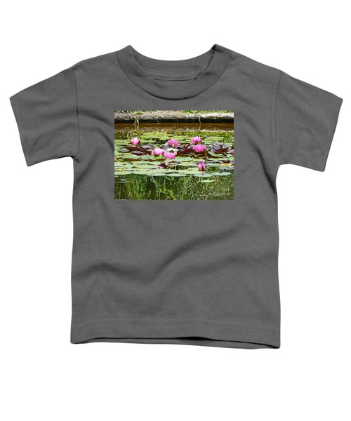 Pink Water Lilies Toddler T-Shirt