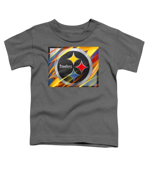 Pittsburgh Steelers Football Toddler T-Shirt
