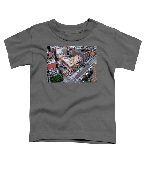 Placing Concrete Forms Toddler T-Shirt