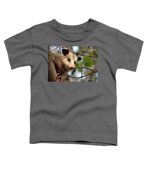 Playing Possum Toddler T-Shirt