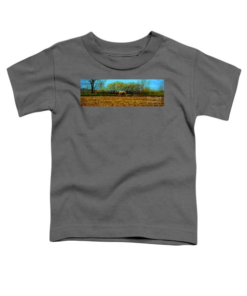 Plow Days Freeport Illinos   Toddler T-Shirt