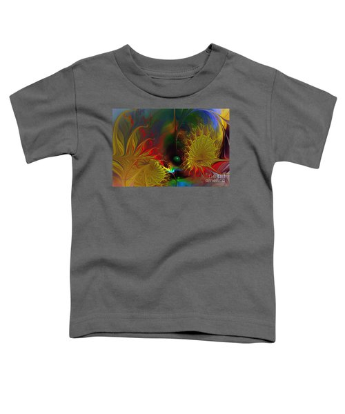 Point Of No Return-abstract Fractal Art Toddler T-Shirt