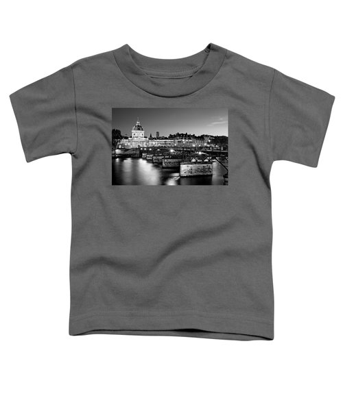 Pont Des Arts And Institut De France / Paris Toddler T-Shirt