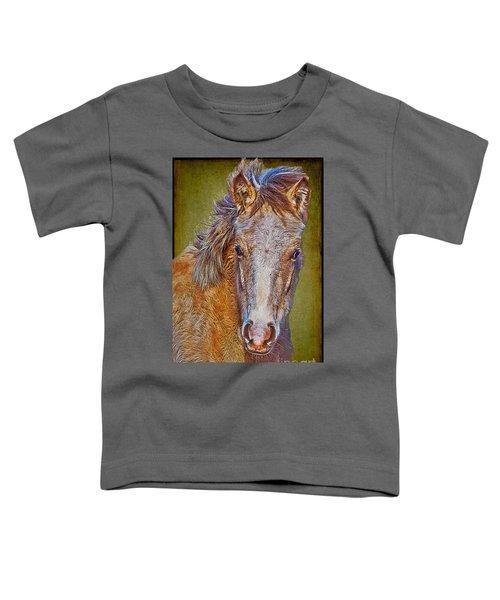 Pony Portrait  Toddler T-Shirt
