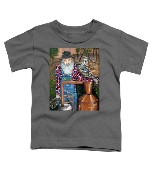 Popcorn Sutton - Bootlegger - Still Toddler T-Shirt