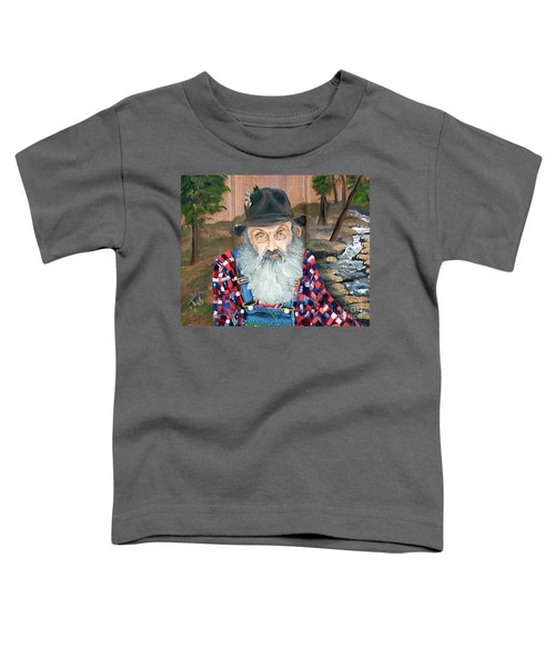 Popcorn Sutton - Moonshine Legend - Landscape View Toddler T-Shirt