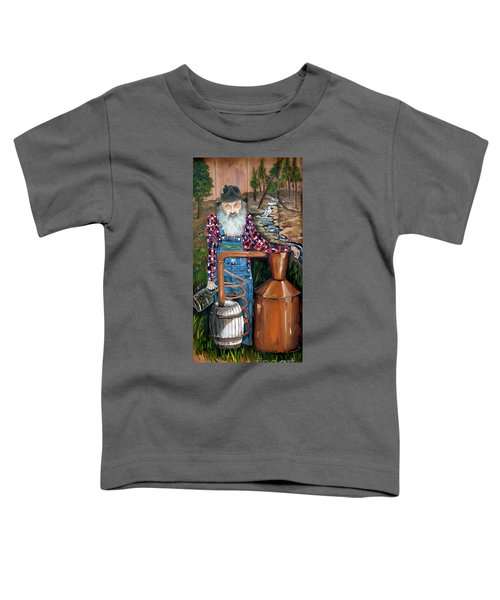 Popcorn Sutton - Moonshiner - Redneck Toddler T-Shirt