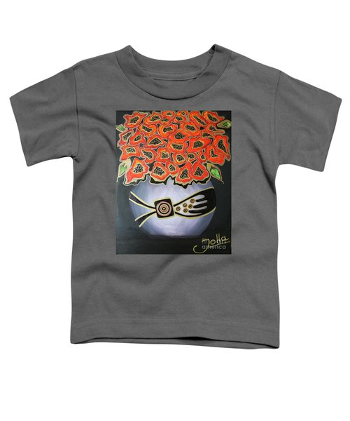 Poppies Revisited.. Toddler T-Shirt