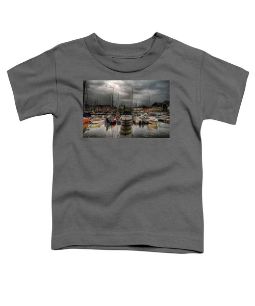 Port At Como Lake Toddler T-Shirt
