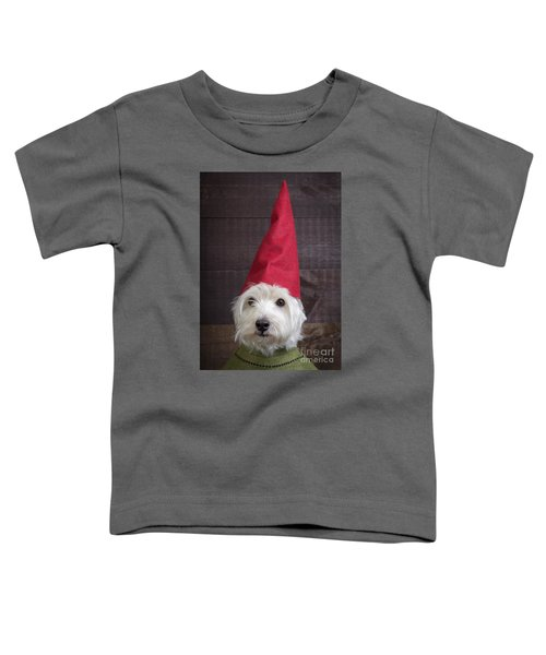 Portrait Of A Garden Gnome Toddler T-Shirt