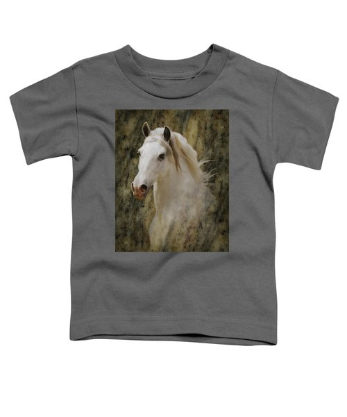 Portrait Of A Horse God Toddler T-Shirt
