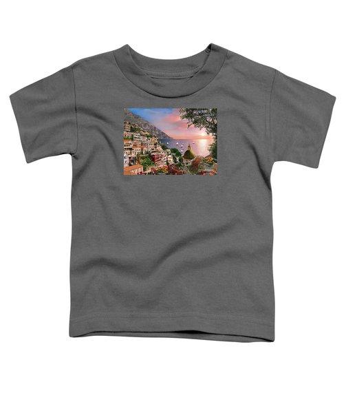 Positano Toddler T-Shirt by Dominic Davison