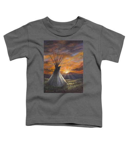 Prairie Sunset Toddler T-Shirt