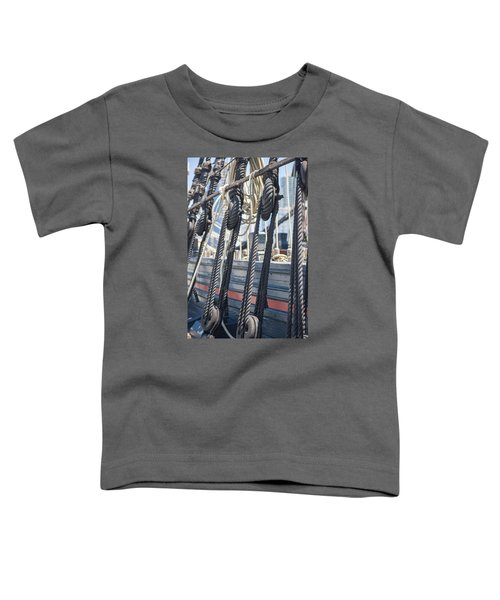 Pulley And Stay Toddler T-Shirt