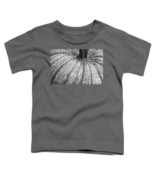 Pumpkin Pumpkin Black And White Toddler T-Shirt