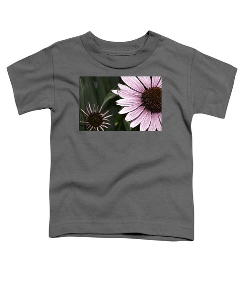 Purple Coneflower Imperfection Toddler T-Shirt