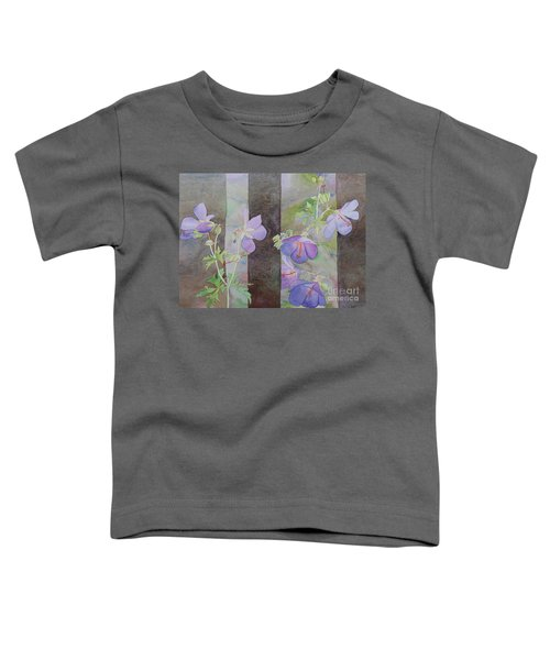 Purple Ivy Geranium Toddler T-Shirt