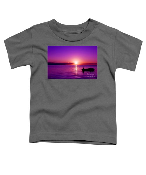 Purple Sunrise Toddler T-Shirt