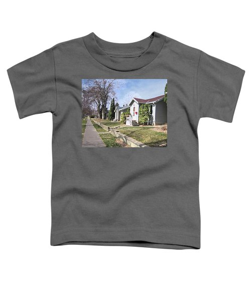 Quiet Street Waiting For Spring Toddler T-Shirt
